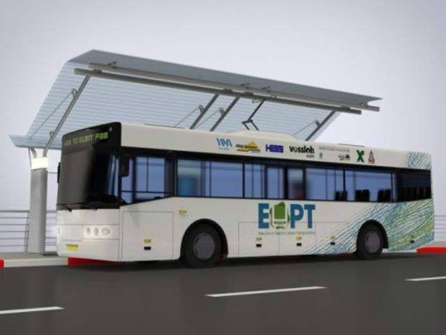 Electric Urban Public Transportation – троллейбусы без проводов. Фото: IT Business Week Israel